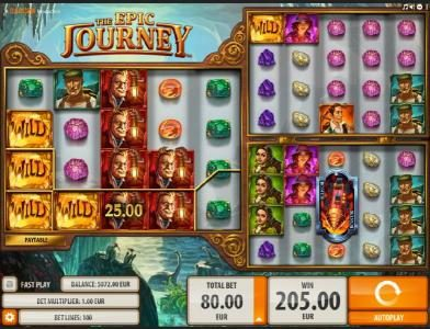 Amsterdam Casino featuring the Video Slots The Epic Journey with a maximum payout of $2,000