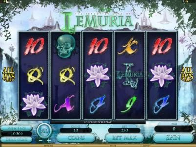 Play slots at Vegas Palms: Vegas Palms featuring the Video Slots The Forgotten Land of Lemuria with a maximum payout of $187,500