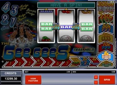 Play slots at Stan James: Stan James featuring the Video Slots The Gee Gees with a maximum payout of $20,000