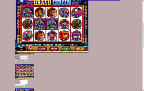 Blackjack Ballroom featuring the Video Slots The Grand Circus with a maximum payout of $20,000