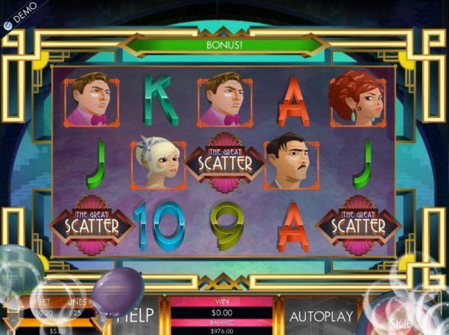 Casino Extra featuring the Video Slots The Great Cashby with a maximum payout of $20,000