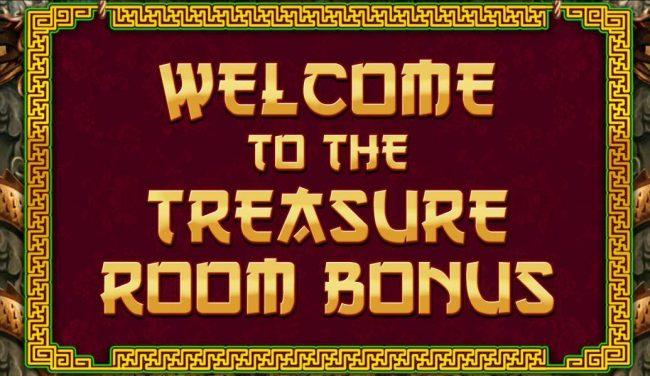 Treasure Room Bonus Awarded.