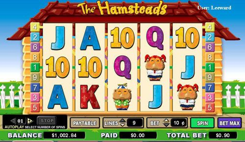 Spinrider featuring the video-Slots The Hamsteads with a maximum payout of 5,000x