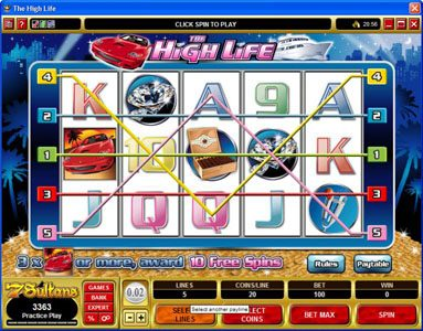 NetBet featuring the Video Slots The High Life with a maximum payout of 1,500x