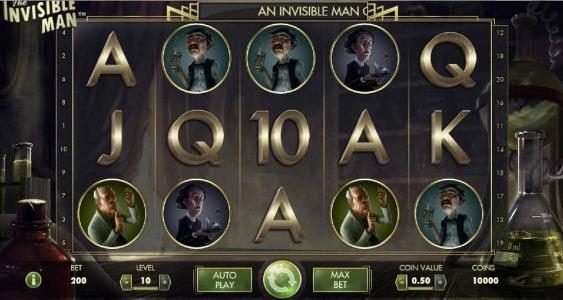 Play slots at Roy Richie: Roy Richie featuring the Video Slots The Invisible Man with a maximum payout of $2,500