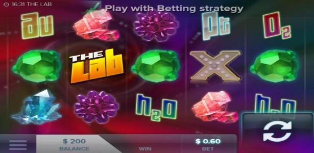 Deuce Club featuring the Video Slots The Lab with a maximum payout of $276,000