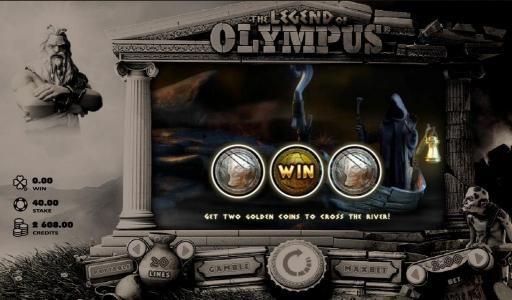 Play Hippo featuring the Video Slots The Legend of Olympus with a maximum payout of $40,000