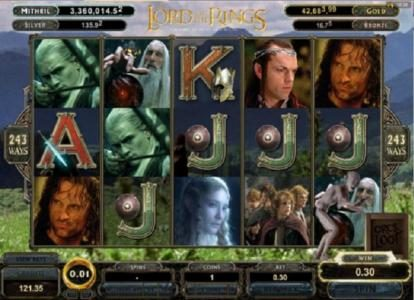 Conquer featuring the Video Slots The Lord of the Rings Fellowship of the Ring with a maximum payout of Jackpot