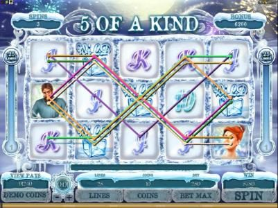 Play slots at Yukon Gold: Yukon Gold featuring the Video Slots The Lost Princess Anastasia with a maximum payout of $4,000