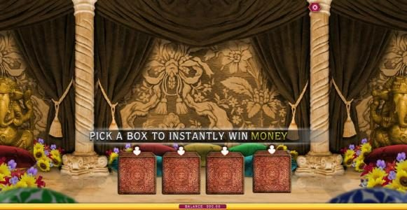 pick a box to win money instantly