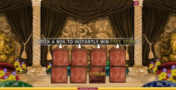 Tangiers featuring the Video Slots The Love Guru with a maximum payout of $1,000