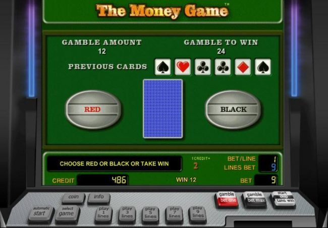 Quasar featuring the Video Slots The Money Game with a maximum payout of $9,000