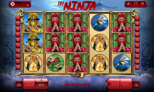 Play slots at VipSpel: VipSpel featuring the Video Slots The Ninja with a maximum payout of $100,000