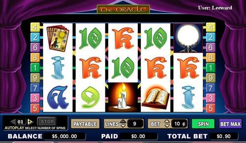 Play slots at Shadowbet: Shadowbet featuring the video-Slots The Oracle with a maximum payout of 4,000x