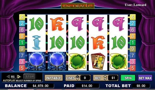 Spintropolis featuring the video-Slots The Oracle with a maximum payout of 4,000x