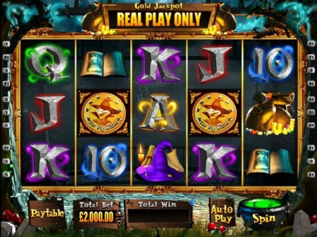 Play slots at All Irish: All Irish featuring the Video Slots The Pig Wizard with a maximum payout of $2,000,000.00