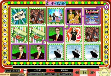 Intertops Classic featuring the Video Slots The Right Prize with a maximum payout of $100,000