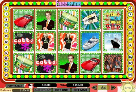 Red Stag featuring the Video Slots The Right Prize with a maximum payout of $100,000