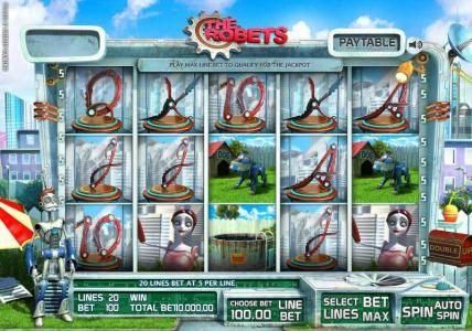 Play slots at Casino Kaiser: Casino Kaiser featuring the Video Slots The Robets with a maximum payout of Jackpot