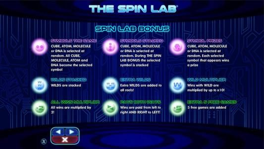 Come On featuring the Video Slots The Spin Lab with a maximum payout of $2,000