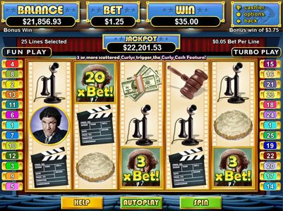 iNET Bet featuring the Video Slots The Three Stooges with a maximum payout of $250,000