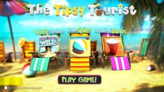 Neder featuring the Video Slots The Tipsy Tourist with a maximum payout of $8,750