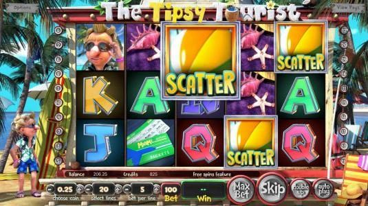 Superior featuring the Video Slots The Tipsy Tourist with a maximum payout of $8,750