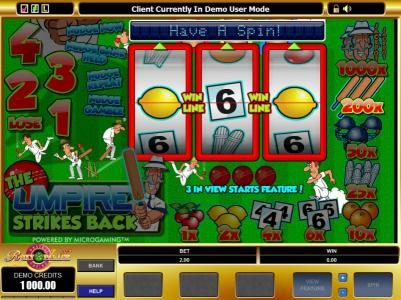 Play slots at TheBesCasino: TheBesCasino featuring the Video Slots The Umpire Strikes Back with a maximum payout of $10,000