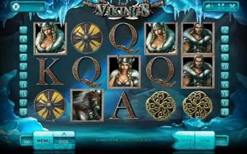 Play slots at King Billy: King Billy featuring the Video Slots The Vikings with a maximum payout of $100,000