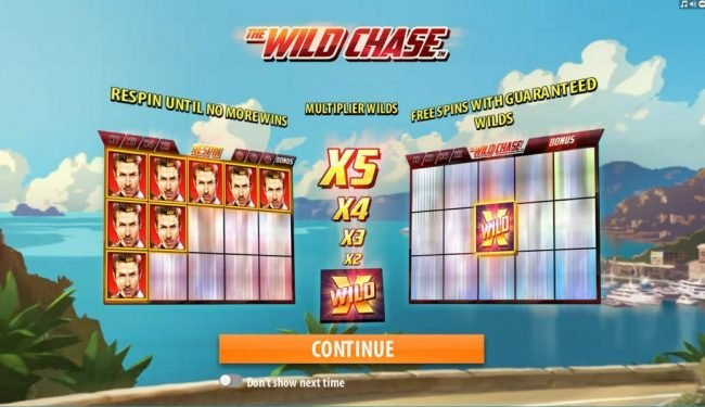 Play slots at BGO Vegas: BGO Vegas featuring the Video Slots The Wild Chase with a maximum payout of $1,000