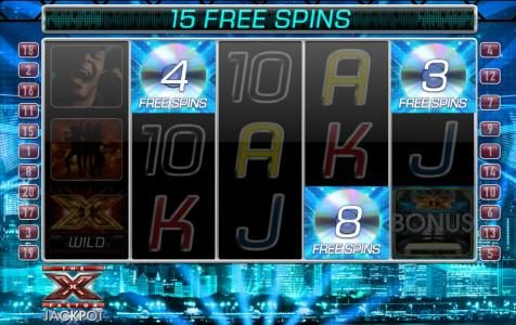 Stan James featuring the Video Slots The X Factor Jackpot with a maximum payout of Jackpot