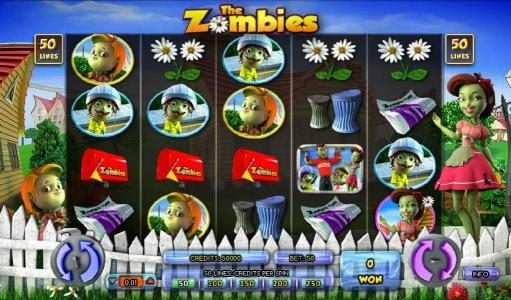 Prime Slots featuring the Video Slots The Zombies with a maximum payout of $12,500