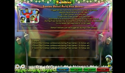 Moon Games featuring the Video Slots The Zombies with a maximum payout of $12,500
