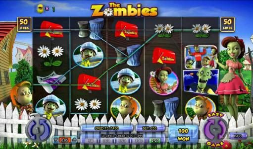 Secret Slots featuring the Video Slots The Zombies with a maximum payout of $12,500