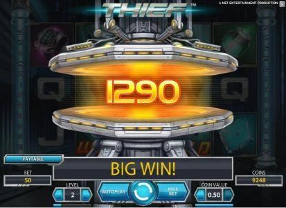 Thief :: 1290 coin big win jackpot