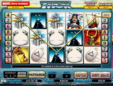 Next Casino featuring the video-Slots Thor with a maximum payout of 4,000x