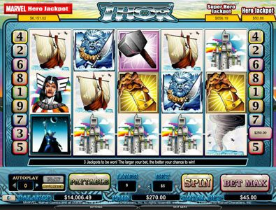 Play slots at Boaboa: Boaboa featuring the video-Slots Thor with a maximum payout of 4,000x
