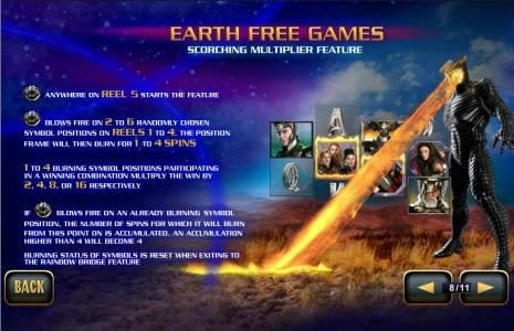 Earth Free Games - Scorching Multiplier Feature