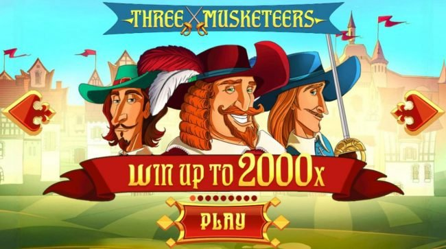 Three Musketeers :: Win up to 2000x!