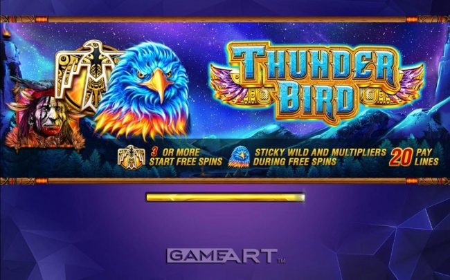 Play slots at Lapalingo: Lapalingo featuring the Video Slots Thunder Bird with a maximum payout of $4,500