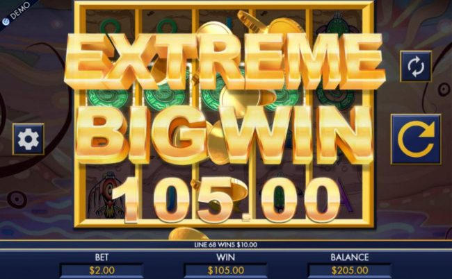 Slotty Vegas featuring the Video Slots Thunderbird Spirit with a maximum payout of $10,000