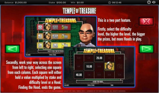 Dream Vegas featuring the Video Slots Thunderbirds with a maximum payout of $250,000
