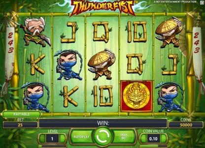 Chanz featuring the Video Slots Thunderfist with a maximum payout of $500