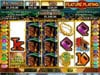 Wild Vegas featuring the Video Slots Aztec's Treasure Feature Guarantee with a maximum payout of 50,000X