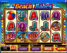7Sultans featuring the Video Slots Beach Babes with a maximum payout of $150,000