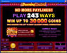 Blackjack Ballroom featuring the Video Slots Burning Desire with a maximum payout of $900,000