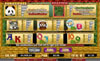 Secret Slots featuring the Video Slots Double Panda with a maximum payout of 10,000x