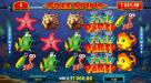 Instacasino featuring the Video Slots Fish Party with a maximum payout of $388,000