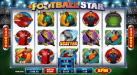 Reel Vegas featuring the Video Slots Football Star with a maximum payout of $105,000