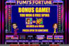 Ramses Gold featuring the Video Slots Fumi's Fortune with a maximum payout of 1,000x
